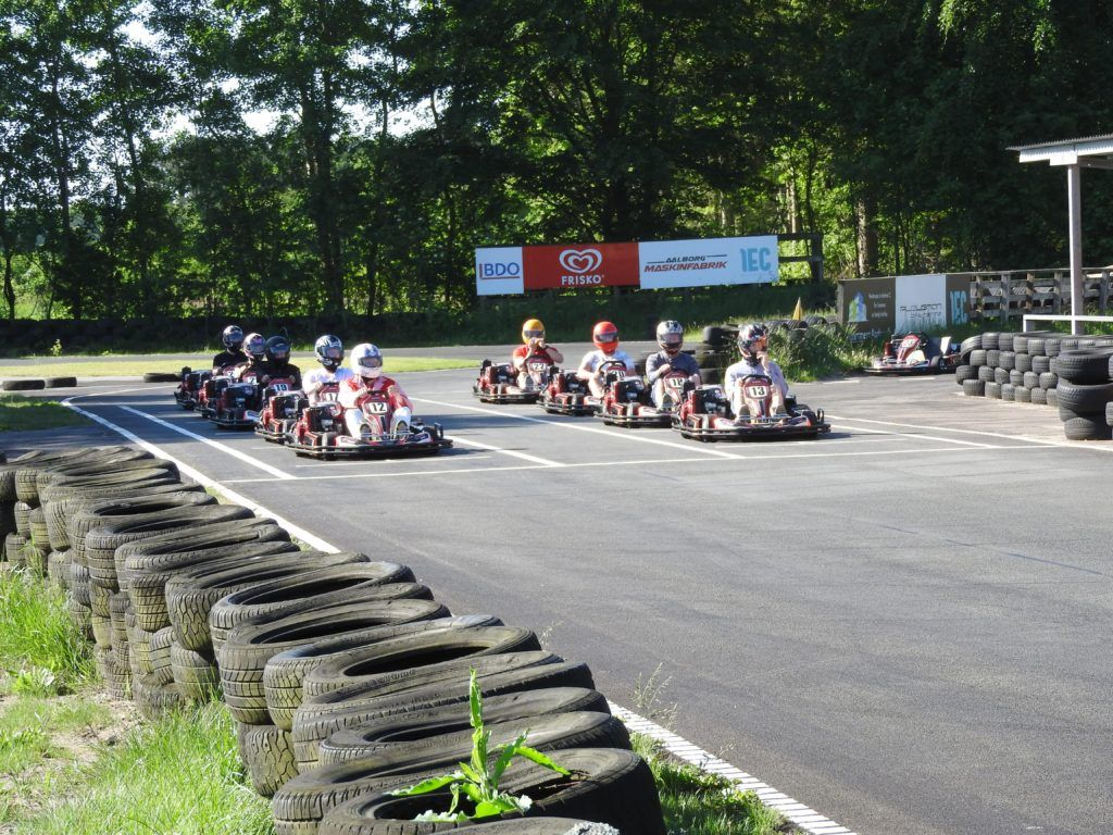 Race start ved Mou Gokart Bane
